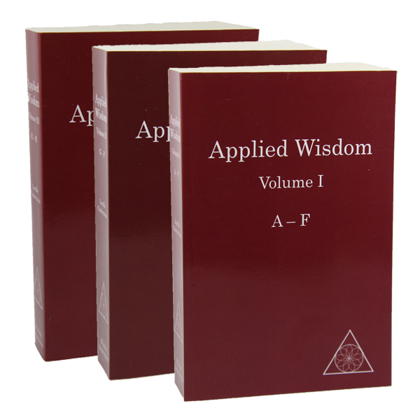 Applied Wisdom (Standard Edition - 3 Volumes) by Lucille Cedercrans